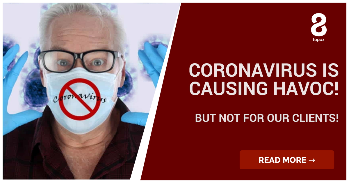 Coronavirus v 8topuz